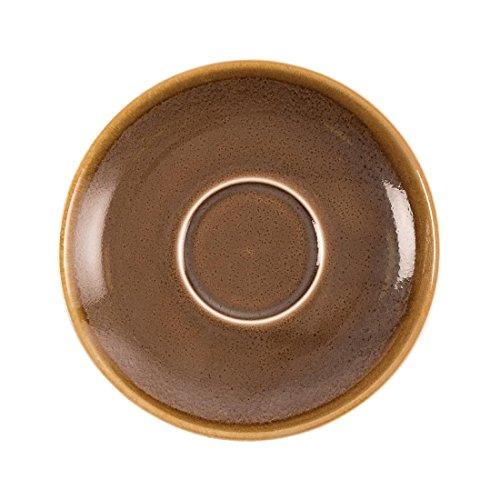 Olympia Ofen gp365Cappuccino Untertasse Rinde, 160mm (6Stück) Eine Untertasse