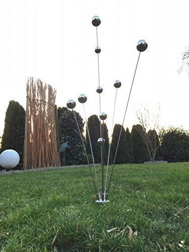 "Gartenstecker\""Simply2013\"" Edelstahlstele/Skulptur"