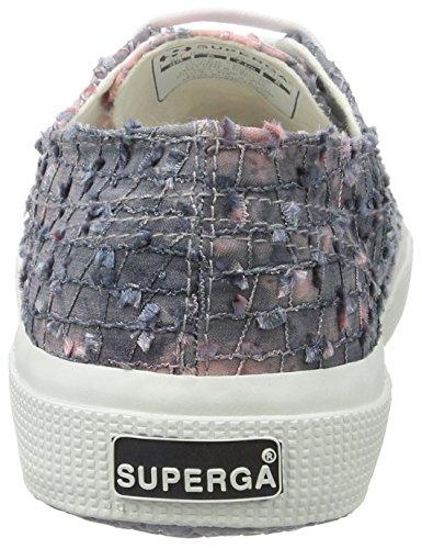 Superga Damen 2750 Fabricfmds1729w Sneakers Mehrfarbig (grey pink)