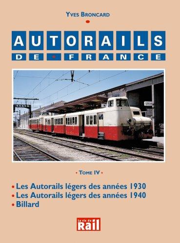 Autorails de France Tome 4 T04