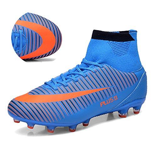 ashion-calcio-scarpe-da-uomo-teenager-dedicato-scarpe-da-calcio-blu-43-eu