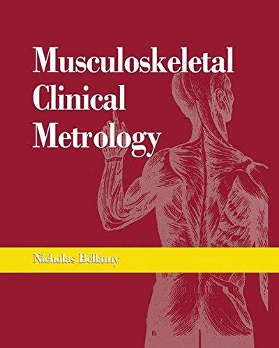 Musculoskeletal Clinical Metrology