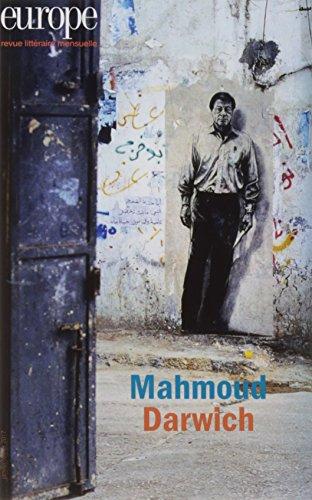 Europe n° 1053-1054<br /> Mahmoud Darwich