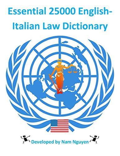Essential 25000 English-Italian Law Dictionary Descargar Epub