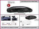 Kit Box SPARK 320 Lt 1338 X 730 X 360 compreso Barre Portatutto Portapacchi...