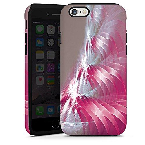 Apple iPhone 5s Housse Étui Protection Coque Motif Motif Lumière Cas Tough terne