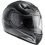 HJC Casque de Moto TR1 NITO MC5SF, Noir, Taille M