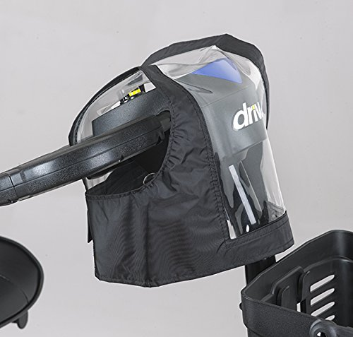 Mobility Scooter Control Panel/Tiller Cover (Black)