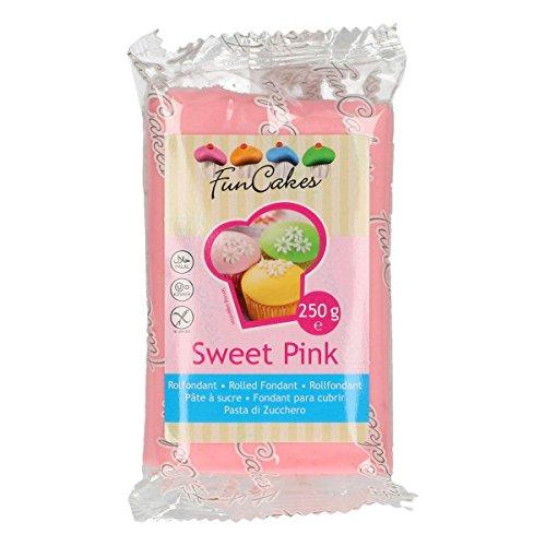 comprare on line FunCakes Pasta Di Zucchero Rosa Chiaro - confezione da 250g prezzo