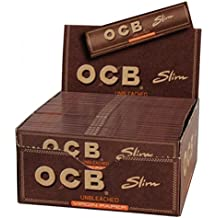 Papeles de Enrollar OCB Slim Virgen x 50