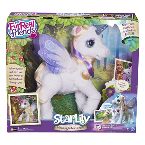 *Hasbro FurReal Friends B0450100 – StarLily, elektronisches Einhorn*