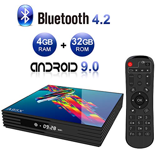 Android TV Box,A95X R3 Android 9.0 TV Box 4GB RAM/32GB