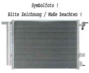 radiateur TWINGO, 07 490x405x18 1.2i,1.5DCi, avec clim.