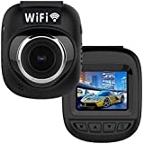 Mini Smallest Car Dash Camera Video Recorder With WiFi Full HD Car Driving Recorder Camcorder With OBD Cable.