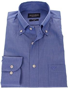 178645 - Bots & Bots - Camicia Uomo - Cotone Twill - Button Down - Normal Fit