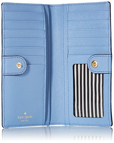 Kate Spade - Portefeuille Femme Turquoise