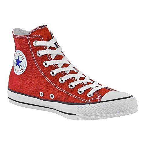 Taylor Boot Classic Chuck (Converse All Stars Classic High Top Boot (Rot/Weiß), Rot - Rot - Größe: 41.5 EU)