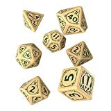 Q WORKSHOP Pathfinder Playtest Rpg Dice Set 7 Ornamented Pieces