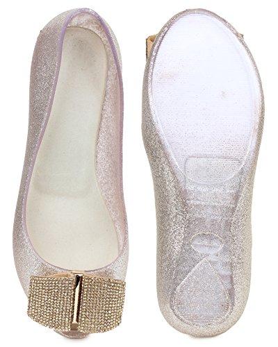 London Steps , Damen Ballerinas gold gold 36.5 Gold