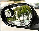 Dbtxwd 2 Piezas Espejos De Punto Ciego 360 Grados Ajustable Espejo Lateral Retrovisores Exteriores Inversión Espejo Auxiliar para Todos Los Coches De Motos