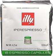 illy Caffè Iperespresso, Caffè Espresso In Capsule, Decaffeinato - 6 confezioni da 18 capsule (totale 108 Caps