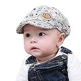 Malloom Bébé Garçon Fille Toddler Kid infantile chapeau pointu Baseball Cap Beret (Gris)