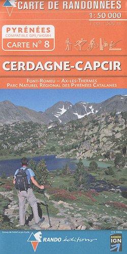 CERDAGNE/CAPCIR  1/50.000
