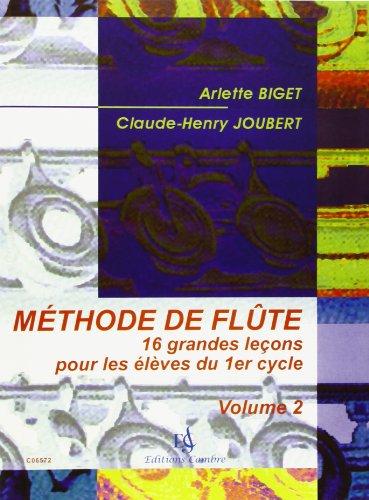 Méthode de flûte vol.2 par Biget/Joubert