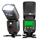 PIXEL GN60 Blitz Speedlite + Pixel Wireless Flash Controller und Commander für Canon DSLR-Kamera