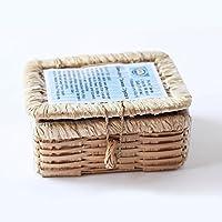 Tawas Cristallo Deodorante Pietra - Handmade, Antibatterico, regalo, in petto di bambù. Nuova collezione