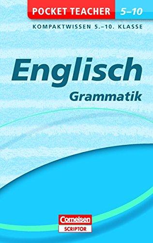 Pocket Teacher Englisch - Grammatik 5.-10. Klasse: Kompaktwissen 5.-10. Klasse Französisch Pocket