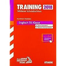 Training Mittlerer Schulabschluss NRW 2018 - Englisch, mit DVD - inkl. Online-Prüfungstraining