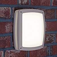 LED Outdoor Light IP65 Wall and Ceiling Light Square 1450 Lumen-Cool White 4000 K - 20 W 30 CM x 30 CM Shatter-Proof from AEG
