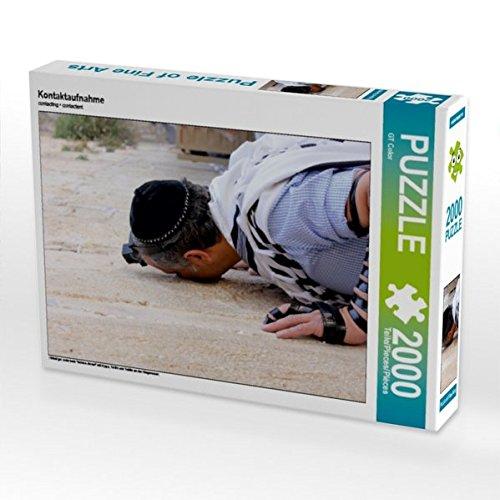 Kontaktaufnahme 2000 Teile Puzzle quer (CALVENDO Glaube)
