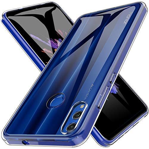 LK Cover per Huawei Honor 8X / Honor View 10 Lite Custodia, Case in Morbido Silicone di Gel AntiGraffio in TPU Ultra [Slim Thin] Protettiva - Trasparente