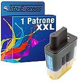 PlatinumSerie® 1x Tinten-Patrone XXL Cyan kompatibel für Brother LC900 DCP-120C MFC-422C MFC-425CN MFC-5440CN MFC-5840CN