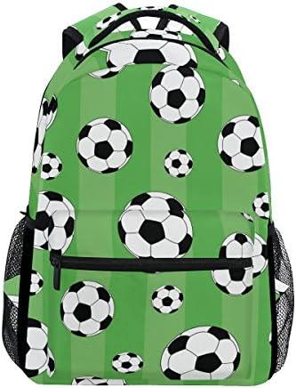 TIZORAX Football Vert Sac à Dos Sac Sac Sac d'école pour ran ée Voyage Sac à Dos B07D3S6DTV   Supérieure  392857