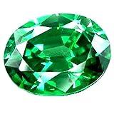 #8: Vaibhav Gems 7.25 - 7.50 Ratti Beryl Emerald ( PANNA STONE ) 100 % ORIGINAL CERTIFIED NATURAL GEMSTONE AAA QUALITY