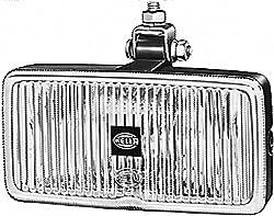 HELLA 1ND 003 590-001 Nebelscheinwerfer Classic 181, Anbau links/rechts hängend, Halogen, 12 V