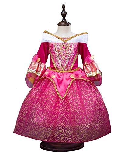 fnkscraft nia disfraz de cenicienta manga larga vestido bebe halloween vestido princesa nia snow white
