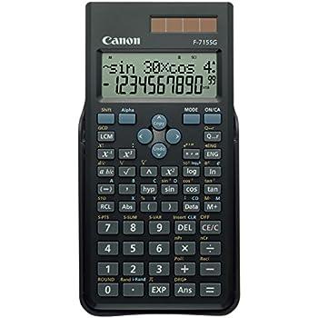 Canon 5730B001 Calcolatrice Scientifica, Nero