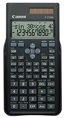 CANON F-715SG EXP DBL Taschenrechner Schwarz