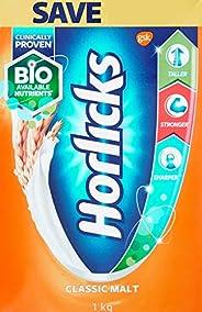 Horlicks Health and Nutrition drink - 1 kg Refill pack (Classic Malt)