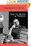 #7: How to Write a Thesis