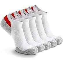 Weekend Peninsula 5 Pares Calcetines Running Deportivos Hombres Mujer, Calcetines Cortos Tobilleros Hombre Mujer Invisibles