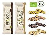 Peakbar /\ Bio Sportriegel mit Kauerlebnis | Mix Set 8x65g | Müsliriegel Radsport Wandern | Vegan | Glutenfrei
