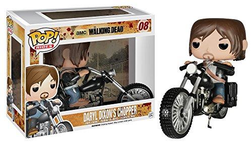 Funko Pop Daryl Dixon en moto chopper (The Walking Dead 08) Funko Pop The Walking Dead
