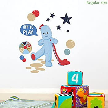 High Quality Igglepiggle Off To Play Wall Sticker (Regular Size) | Official In The Night  Garden Wall Sticker Part 9