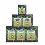 #9: Khadi Mauri Herbal Black Henna Pack of 6 Natural Kali Mehndi - 100 gm each