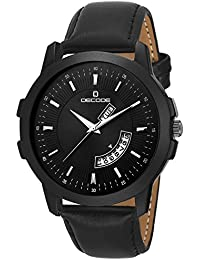 Decode Analogue Black Dial Men's & Boy's Watch